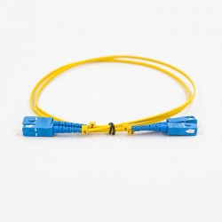 Fiber optic patch cable, Single-mode, 2xSCU-SCU
