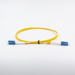 Fiber optic patch cable, Single-mode, 2xLCU-LCU