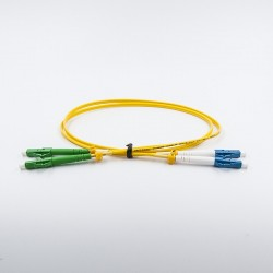 Fiber optic patch cable, Single-mode, 2xLCA-LCU