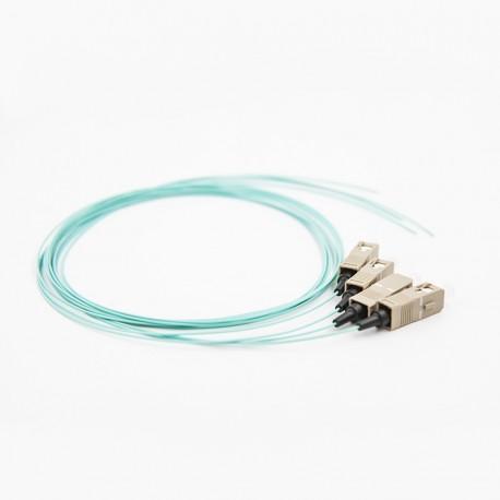 Optiline pigtail OM4, SC 50/125, 1m