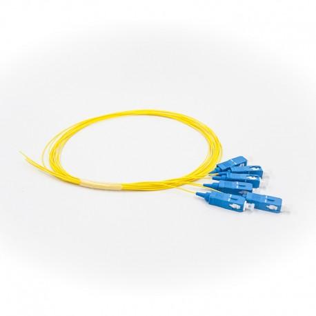 Optical pigtail SM, SC/UPC G.657, 1m