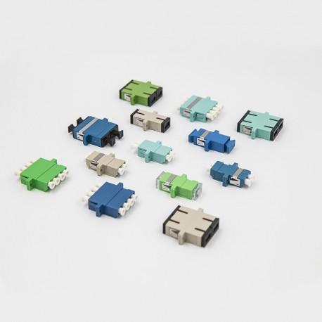 Оптические адаптеры, MM, LC/UPC