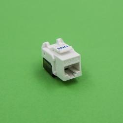 DNS Cat 5e UTP Keystone Jack T3 (white)