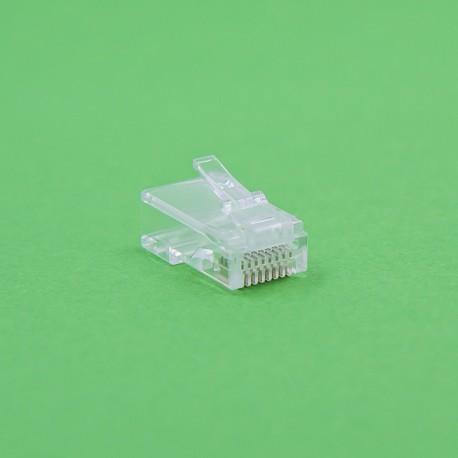 DNS RJ45 Cat 6 UTP Connector, pass thru